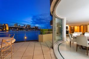 The view from La Corniche's balcony. Photo / Supplied