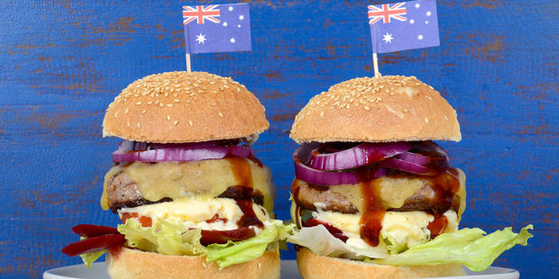 Worst Burger in the World?  Australia.