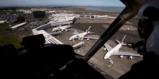 Auckland Airport shares have gained 46 per cent in the past year.  Photo / Dean Purcell