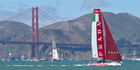 Luna Rossa quit the event in protest after Cup organisers suddenly decided to change the boats. Photo / Alex Robertson
