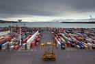 Ports of Auckland. Photo / Richard Robinson