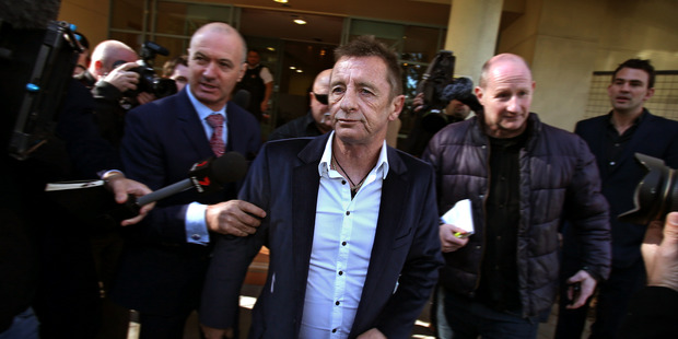 Phil Rudd was only recently sentenced to eight months' home detention. Photo / John Borren
