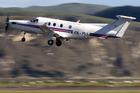 A Sounds Air nine-seater Pilatus PC-12 plane. Photo / NZME