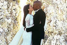 Kim Kardashian and Kanye West tied the knot in 2014 - what are their chances of divorce? Photo / Instagram