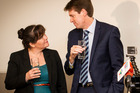 Colin Craig and his wife Helen. He announced his intention to sue