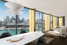 An artist's impression of the view from 132 Halsey's penthouse. Illustration / Supplied