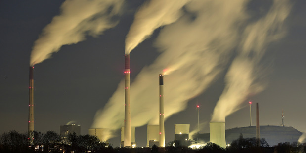 A coal-fired power station in Germany. Photo / AP