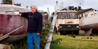 David McCormick - one of the claimants  in a legal claim involving land on the Te Atatu Peninsula.  Photo / Dean Purcell.