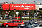 The Warehouse at The Base shopping centre at Te Rapa. Owner Tainui has sold half it's stake to Kiwi Property. Photo/  Christine Cornege