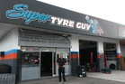 Eugene Young (pictured) and his wife Marie own Super Tyre Guy on Puke Road, Paeroa.