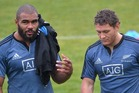 Patrick Osborne and Tawera Kerr-Barlow both joined the All Blacks squad. Photo / ODT