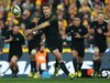 Dan Carter of the All Blacks passes the ball during The Rugby Championship match between the Australia Wallabies and the New Zealand All Blacks. Photo / Getty Images.