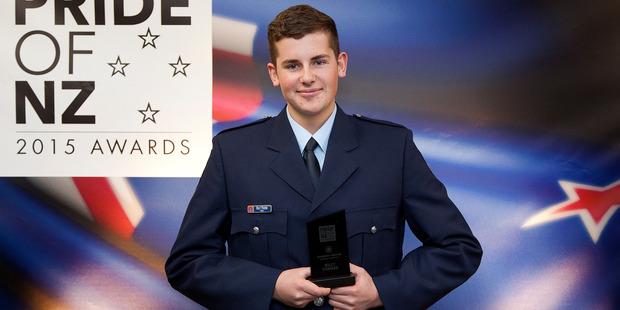 Emergency Services winner Billy Turner.