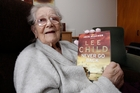 Pearl Sanger, pictured two years ago with the new novel signed by author Lee Child. Photo / John Stone