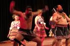 Te Pito Whenua perform a tribute to the 28th Maori Battalion at the Turner Centre.