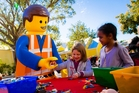 Kids can construct their ideal holiday at Florida's Legoland. Photo / Supplied