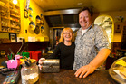 Marjan and Sjoerd Rustenhoven have owned the Middle East Cafe in Wellesley St since 1980. Photo / Jason Oxenham