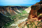 The rugged Charles Knife Gorge, south of Exmouth. Photo / Tourism Western Australia