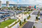 Halsey and Daldy Streets are now an easy place to stroll and enjoy the modern landscaping.