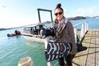 DOCUMENTARY:World freediving record holder, videographer, model, and documentary maker Ai Futaki is fronting a documentary involving her diving with orcas off Northland's coast. PHOTO/MICHAEL CUNNINGHAM
