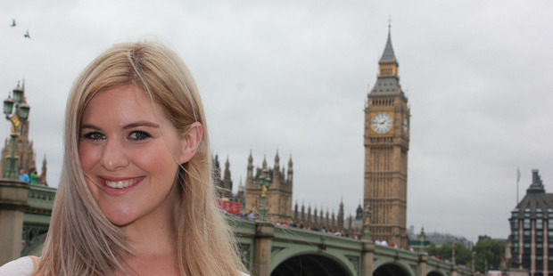Alex Hazlehurst has struggled to find a job in London. Photo / Supplied