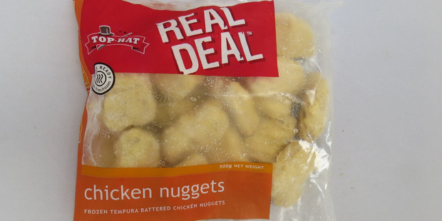 Chicken nuggets just 37% real deal