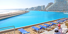 The world's largest swimming pool is at San Alfonso del Mar in Chile. Photo / www.sanalfonso.cl
