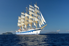 The Royal Clipper at sea. Photo / Supplied