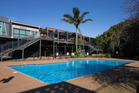 The AUT South Campus swimming pool - in urban areas, the rationale for closing school pools is strongest. Photo / Brett Phibbs