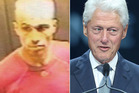 Gareth Williams, left and Bill Clinton. Williams had infuriated his spy bosses with his behaviour.