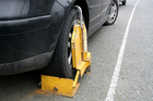 Wheel clamping fees have been labelled