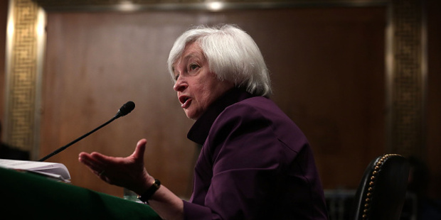 When will US Federal Reserve chairwoman Janet Yellen start to raise official rates? Photo / Getty Images