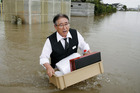 Echo of 2011 tsunami in Japan flood