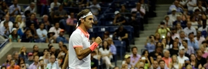 Roger Federer faces Novak Djokovic in his first US Open final since 2009. Photo / AP