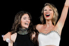 Lorde and Taylor Swift are both nominees in the MTV Europe Music Awards. Photo/AP