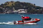 The Coastguard had a busy day in Auckland. Photo / Jason Oxenham.