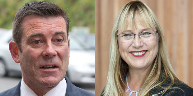 Immigration Minister Michael Woodhouse and Green MP Denise Roche debated over Kiribati man Ioane Teitiota - who claimed refugee status because climate change. Photo / Mark Mitchell / Supplied