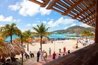 Great Bay Beach in St Maarten. Photo / 123RF