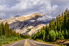 Scenic view of the road on Icefields parkway, Canadian Rockies. Photo / 123RF