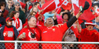 Tongan supporters should have won a prize for being the best supporters of their team at the last Rugby World Cup. Photo / NZME.