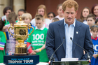 One of the most pressing questions ahead of the big kickoff: What is Prince Harry up to? Photo / Getty Images