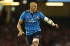 Italy captain Sergio Parisse. Photo / Getty Images