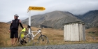 Herald photographer Greg Bowker near Molesworth Station en route to Hanmer Springs. Photo / Greg Bowker
