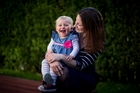 Jared Noel's daughter Elise is now 20 months old and thriving, says mum Hannah. Photo / Dean Purcell