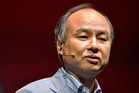 Masayoshi Son, chairman and chief executive officer of SoftBank Corp. Photo / Getty Images