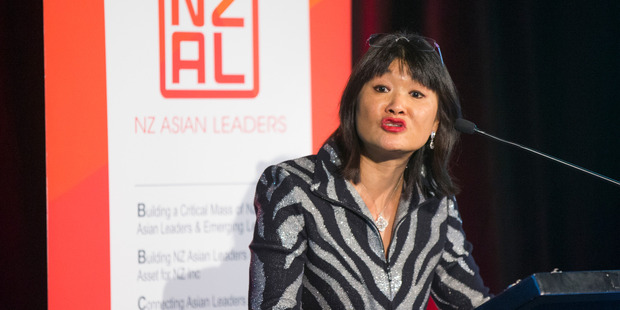 Managing Partner of Chen Palmer Law, Mai Chen at the New Zealand Asian Leaders (NZAL) event. Photo / Nick Reed