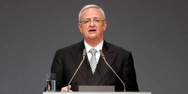 Volkswagen CEO Martin Winterkorn. Photo / AP
