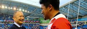 Japan coach Eddie Jones. Photo / AP