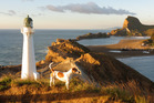 The lighthouse at Castlepoint. Photo / Supplied