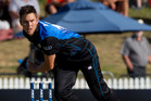 Trent Boult is expected to be back for tomorrow's game at Nelson's Saxton Oval. Photo /  Christine Cornege